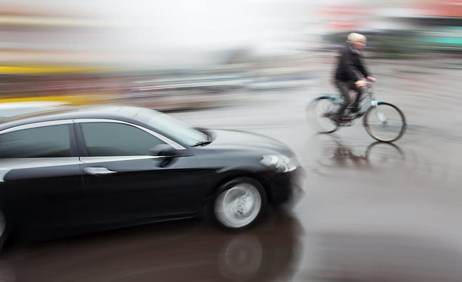 Bicycle Accident Imminent - Driver Assist Technologies are Revolutionizing the Concept of Driving and Accident Liability
