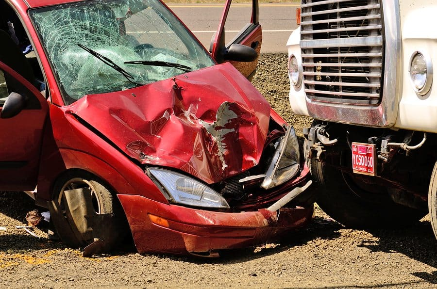 bigstock Car Wreck 87238538 - Speed limiting Technology may Pave the way for Fewer Commercial Trucking Accidents
