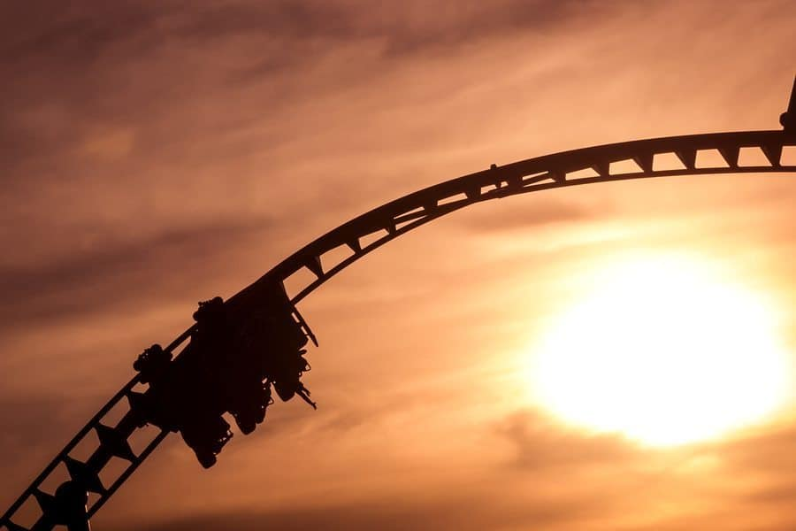 bigstock Silhuette Of A Rollercoaster 92879627 1 - Investigators Announce Cause of Verrückt Accident Fatality